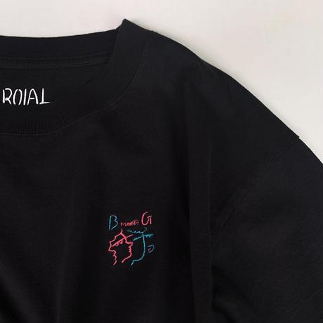 【ROIAL x bonyuki】 コラボ 刺繍Tシャツ 10/4〜10/26