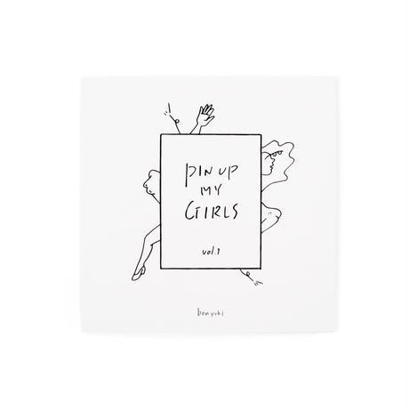 "zine ""pin-up my girls"" (ステッカー3枚付き)"