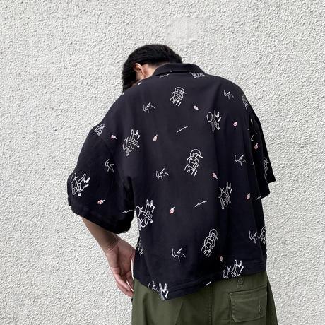 【ROIAL x bonyuki】 総柄シャツ  10/4〜10/26