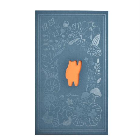masao takahata x booco コラボノート 北海道の窓シリーズ(熊)