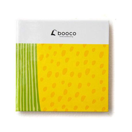 booco DELICIOUS COLOR プリントデザイン (トウモロコシ:セパレート, メモ)