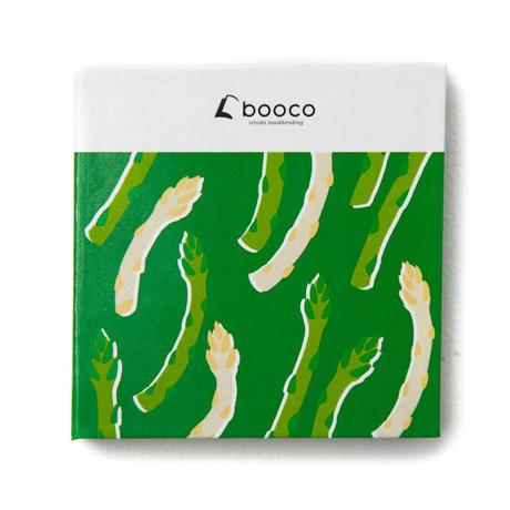 booco DELICIOUS COLOR プリントデザイン (アスパラ:セパレート, メモ)