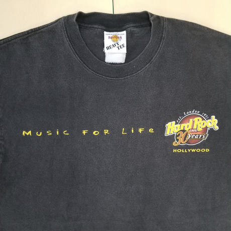 USED HARD ROCK TEE MR64
