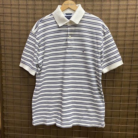 USED T/H POLO SH 223 WHT/BLK