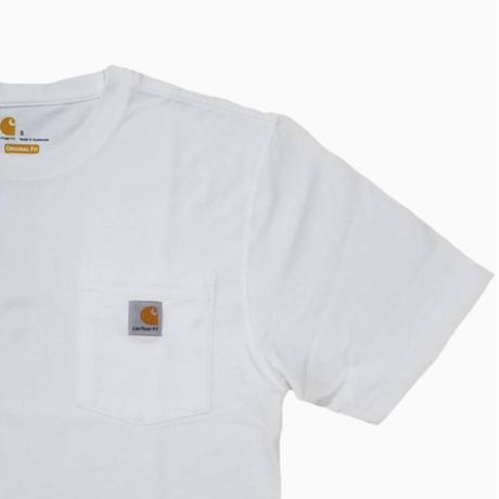 carhartt TEE WHITE