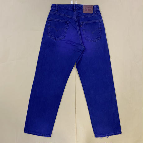 USED Levi's #569 DYED P23LP