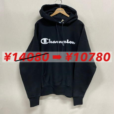 Champion R/W HOODIE BLACK