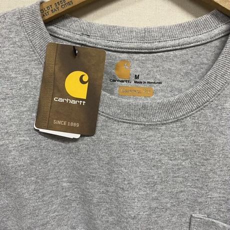 carhartt L/S TEE GRAY
