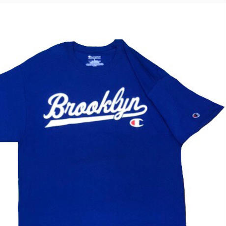 Champion TEE BEARD BLUE