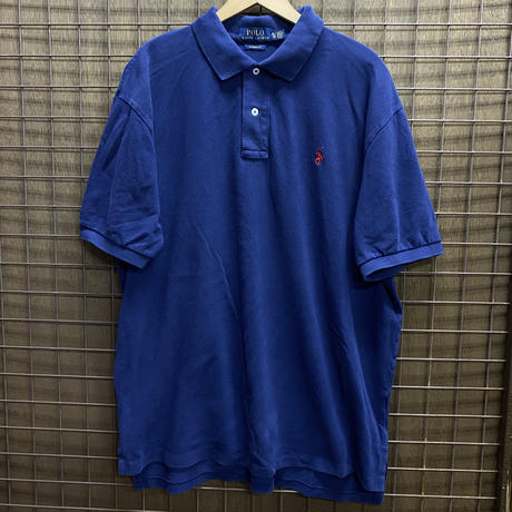 USED R/L POLO SH 216 NAVY/RED