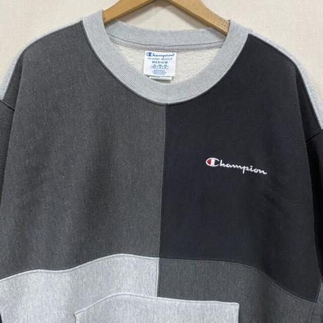 Champion R/W SWEAT GRAY/BLACK