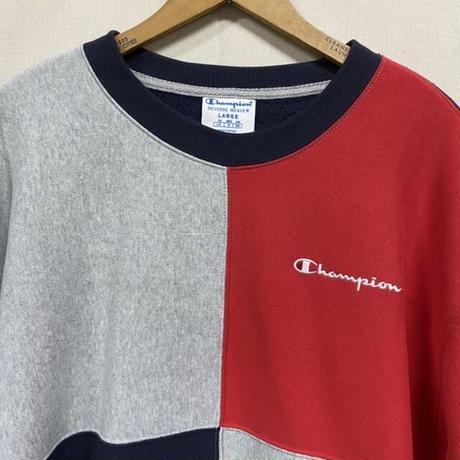 Champion R/W SWEAT RED/NAVY