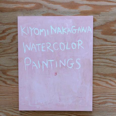 KIYOMI NAKAGAWA WATERCOLOR PAINTINGS