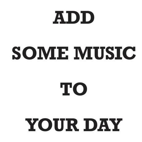 〔限定100部/BOOKNERDオリジナルzine〕 ADD SOME MUSIC TO YOUR DAY