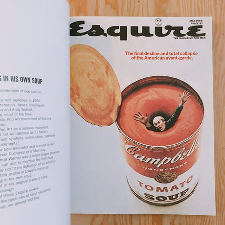 COVERING THE '60s GEORGE LOIS THE ESQUIRE ERA