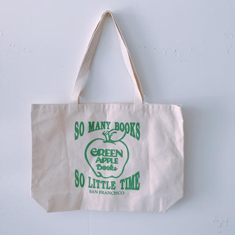 GREEN APPLE BOOKS TOTE BAG