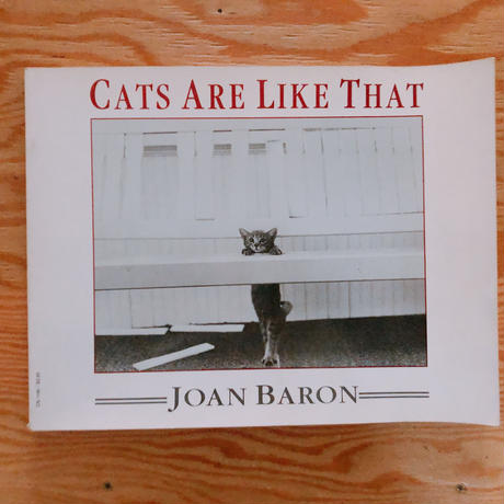 JOAN BARON   CATS ARE LIKE THAT