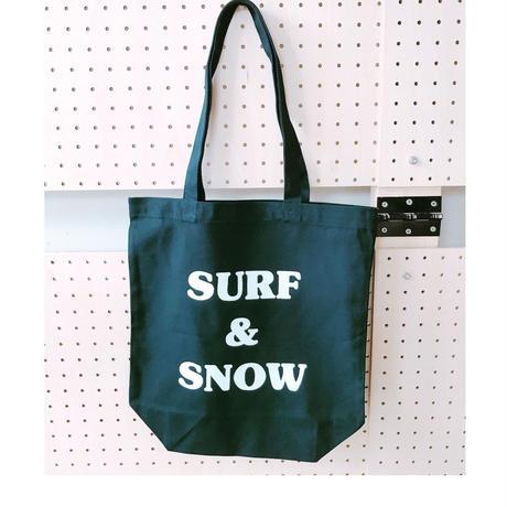 "BOOKNERDオリジナルトート""SURF&SNOW"""
