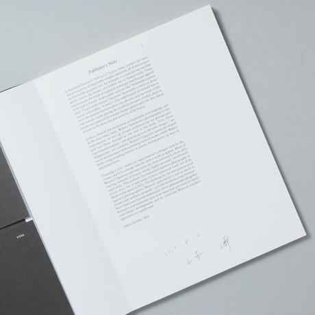 [ サイン入/ Signed ] 線を引くDRAWING A LINE  / 山本渉 (Wataru Yamamoto)