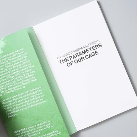 [新刊・ポストカード付]  THE PARAMETERS OF OUR CAGE  C. Fausto Cabrera(クリス・ファウスト・カブレラ), Alec Soth(アレック・ソス)