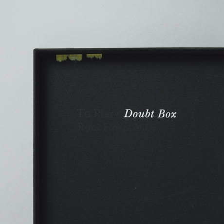 Island:To Place Doubt Box / Roni Horn(ロニ・ホーン)