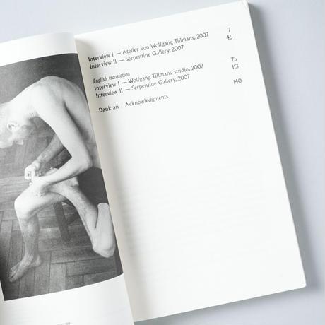 The Conversation Series: Vol. 6 / Wolfgang Tillmans (ヴォルフガング・ティルマンス)、 Hans Ulrich Obrist