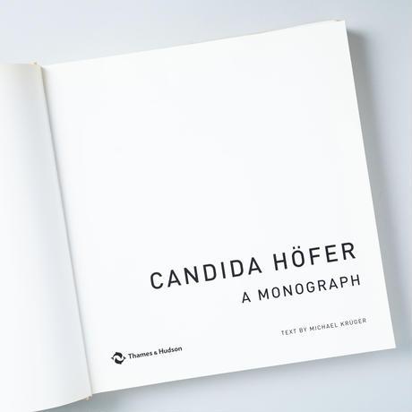 CANDIDA HOFER A MONOGRAPH / Candida Hofer( カンディダ・へーファー)