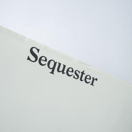 Sequester / Awoiska van der Molen(アヴォイスカ・ヴァン・デル・モレン)