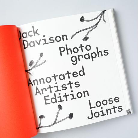 [新刊/NEW]PHOTOGRAPHS (ANNOTATED ARTISTS ed.) / Jack Davison ( ジャック・デイヴィソン )
