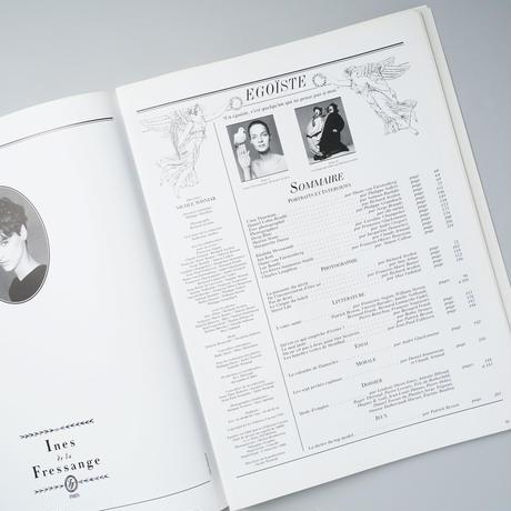 EGOISTE no.13 Tome 1  / Richard Avedon(リチャード・アヴェドン)、Bettina Rheims(ベッティナ・ランス)ほか