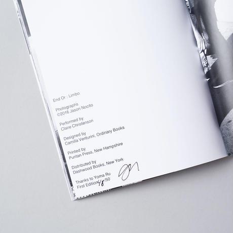 [サイン入/SIGNED] LIMBO / Jason  Nocito(ジェイソン・ノシート)