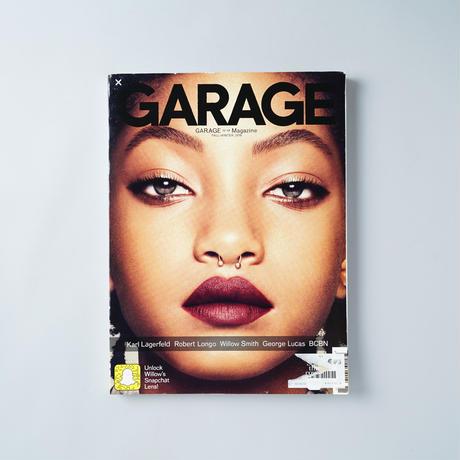 GARAGE Magazine No.11 Fall/Winter 2016