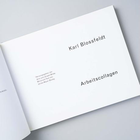ARBEITSCOLLAGEN / Karl Blossfeldt(カール・ブロスフェルト)