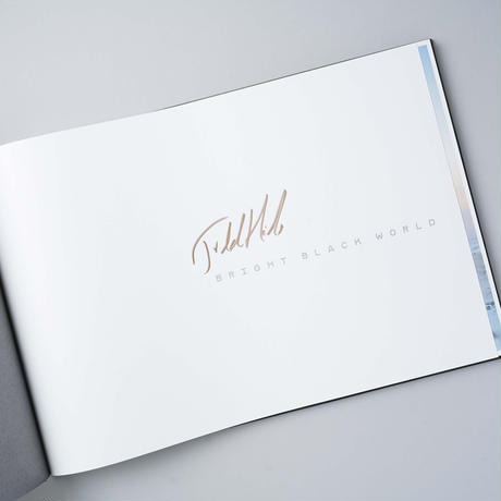 [サイン入 / Signed] BRIGHT BLACK WORLD / Todd Hido(トッド・ハイド)