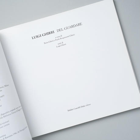DEL GUARDARE / Luigi Ghirri(ルイジ・ギッリ)