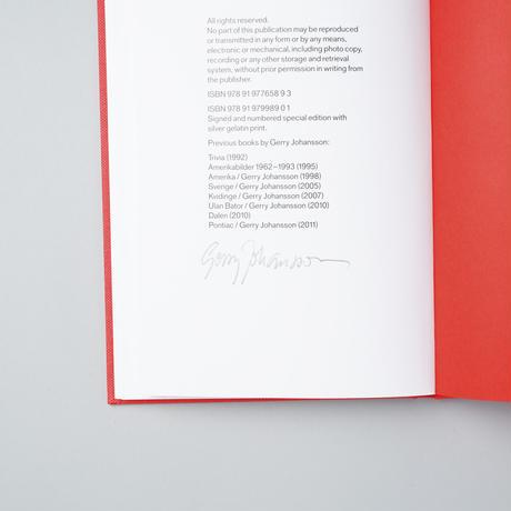 [サイン入/SIGNED] GOD JUL&GOTTNYTTÅRÖNSKARGERRYOCHANN  / Gerry Johansson(ゲリー・ヨハンソン)