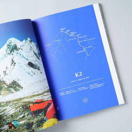 TOO MUCH Magazine of Romantic Geography WINTER 2016  The Himalayas Naoki Ishikawa (石川直樹日本語テキスト冊子付き)