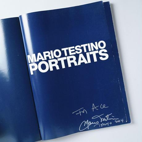 [サイン入/Signed] PORTRAITS / Mario Testino  (マリオ・テスティーノ)