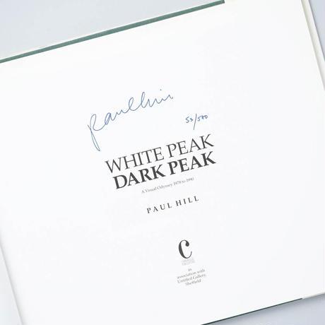 [サイン入/Signed] WHITE PEAK DARK PEAK / Paul Hill (ポール・ヒル)