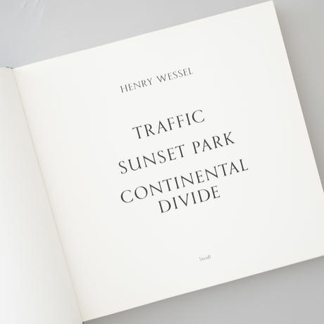 Henry Wessel Traffic  Sunset Park  Continental Divide / Henry Wessel(ヘンリー・ウェッセル)