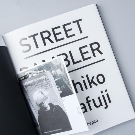 [サイン入/Signed] STREET RAMBLER / 中藤毅彦(Takehiko Nakafuji)