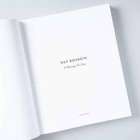 [新刊/New] A Message For You / GUY BOURDIN(ギイ・ブルダン)