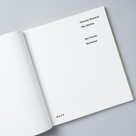 [新刊/NEW] Dailys / Thomas Demand(トーマス・デマンド)
