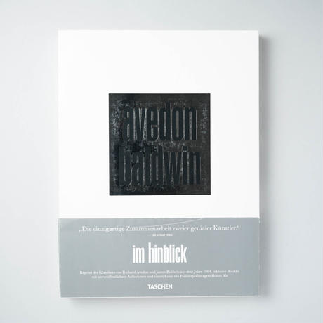 im hinbliick , avedon baldwin / Richard Avedon(リチャード・アヴェドン)、James Baldwin(ジェームズ・ボールドウィン)
