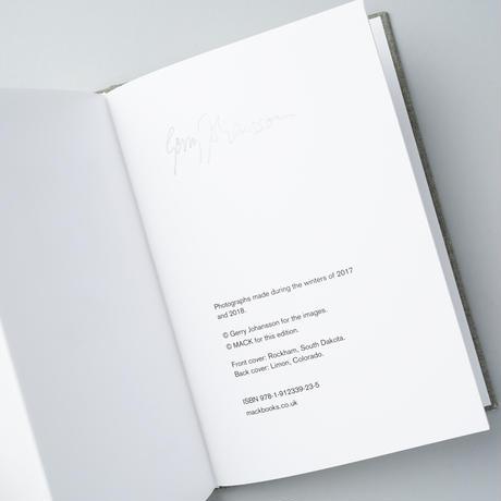 [サイン入 / SIGNED]  AMERICAN WINTER / Gerry Johansson (ゲリー・ヨハンソン)