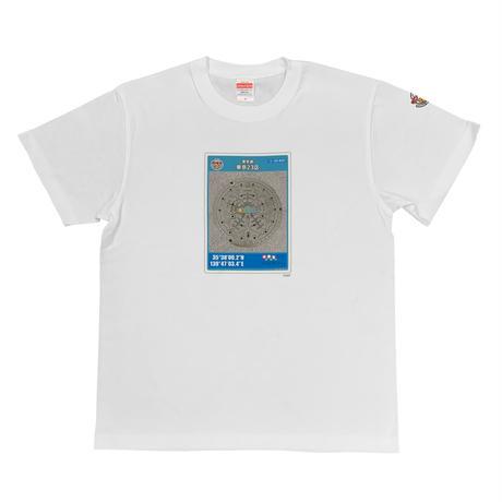 マンホールカード Tシャツ(東京都 東京23区)