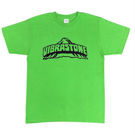 ビブラストーン ロゴ Tシャツ  OTO カラーセレクション(ブライトグリーン)