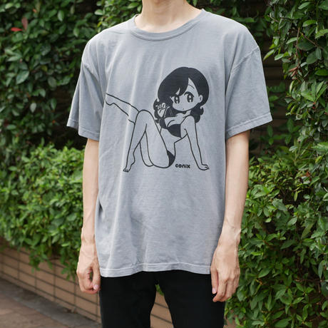 "conix cover girl T-shirt ""Body"" Grey"