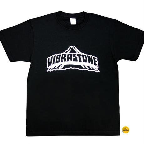 ビブラストーン ロゴ Tシャツ(復刻版) ブラック