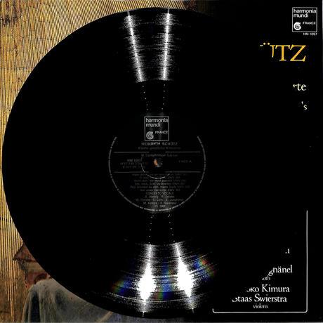 コンチェルト・ヴォーカレ / ハインリッヒ・シュッツ:小宗教的コンツェルテ(1982 FRANCE ORIGINAL,HM-1097)(長岡鉄男の外盤A級)(LPレコード)